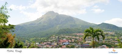 Montagne Pelée en Martinique