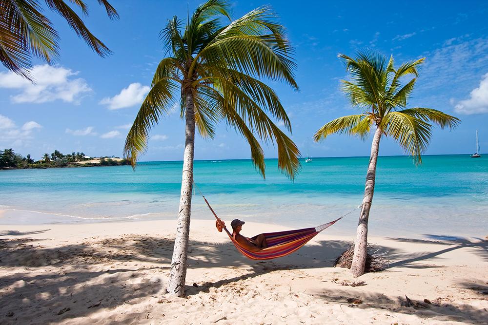 Plage des Salines Sainte-Anne Martinique