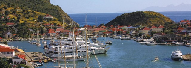 Port Gustavia de St-Barth