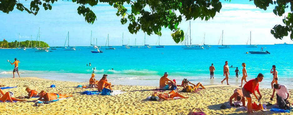 Saint-François Guadeloupe, plage